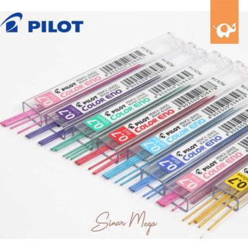 Pilot Isi Refill Pensil Mekanik Color Eno 2B 0,7mm