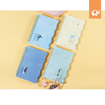 Daydream Girl Multi Subject Ruled Notebook A5
