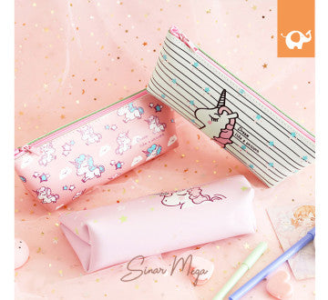 Dream Like a Unicorn Leather Pencil Case