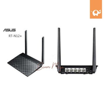 ASUS Wireless Wifi Router 3in1 RT-N12+