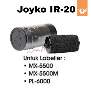 Joyko Refill Ink Roll Labeller IR-20 MX-5500 20mm