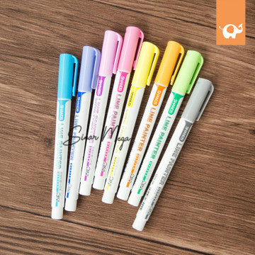 Line Painter Marker 8 Colors Set