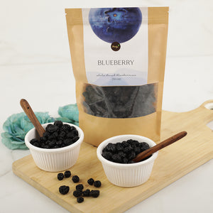 Shahji Premium Whole Dried Blueberries - (250G)