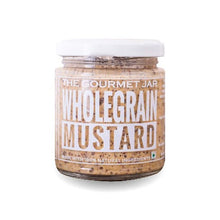 Load image into Gallery viewer, The Gourmet Jar Wholegrain Mustard -  (170G)