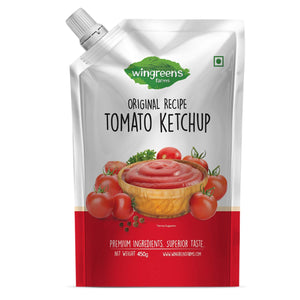 Wingreens Farms -Tomato Ketchup - (450G)