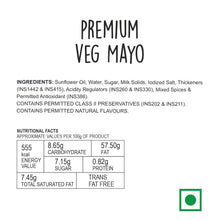 Load image into Gallery viewer, Wingreens Farms Premium Veg Mayonnaise - (130G)