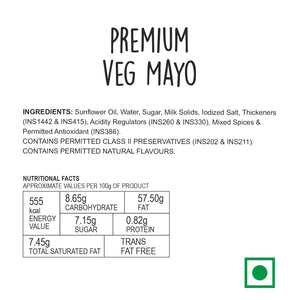 Wingreens Farms Premium Veg Mayonnaise - (130G)