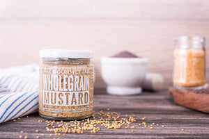 The Gourmet Jar Wholegrain Mustard -  (170G)