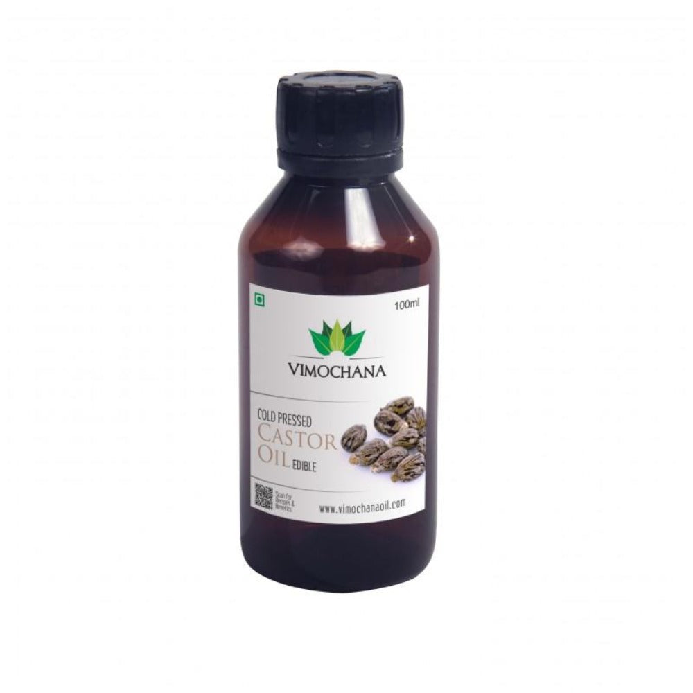 Vimochana Cold Pressed Castor Oil Edible - (100ML)
