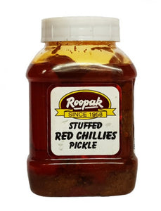 Roopak Stuffed Red Chillies Pickle - (300G)