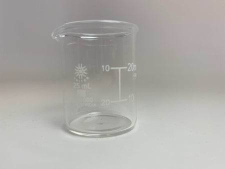 Glass Beaker, 25 ML