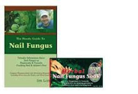 The Guide to Nail Fungus PLUS Nail Fungus Soak SPECIAL Set!