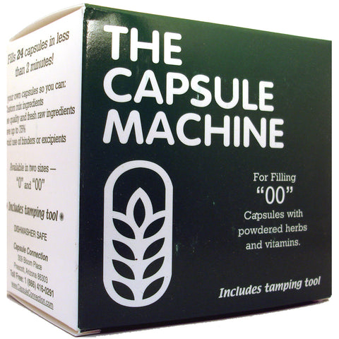 The Capsule Machine, size