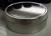 Round  Stainless Tin: 4 oz - Medium