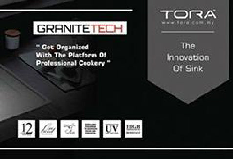 TORA GraniteTech Sink : The Innovation of Sink