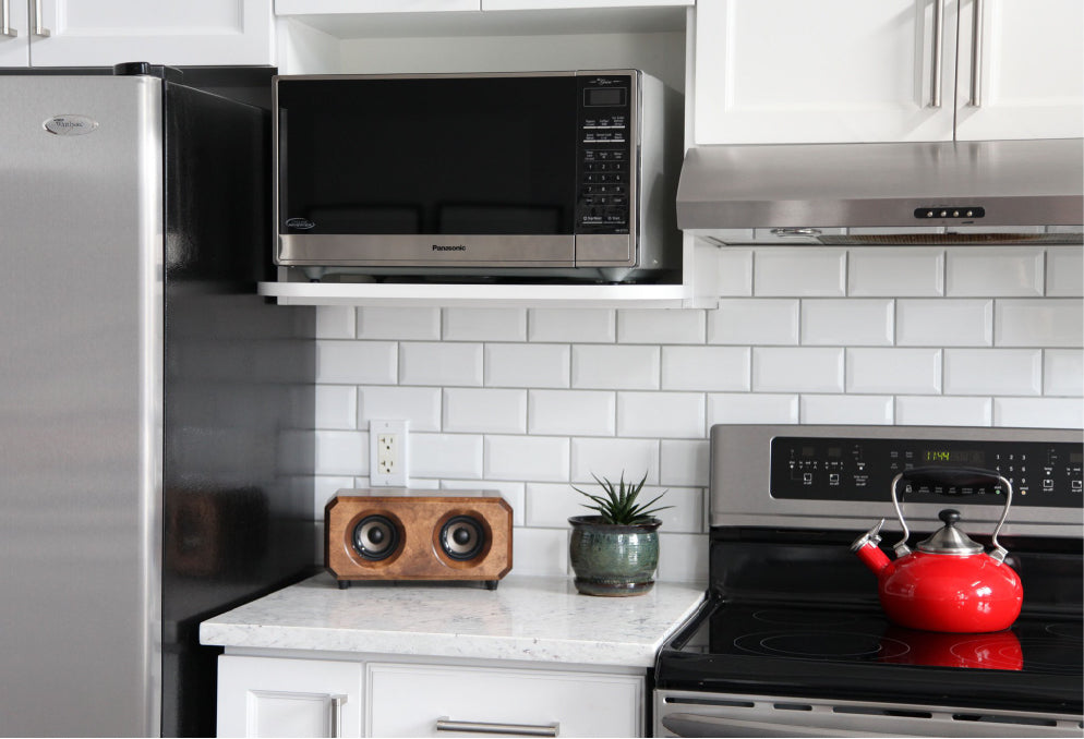 Need Music While You Cook? Where To Place The Speaker?
