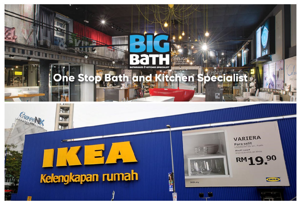 How are Big Bath and IKEA different?