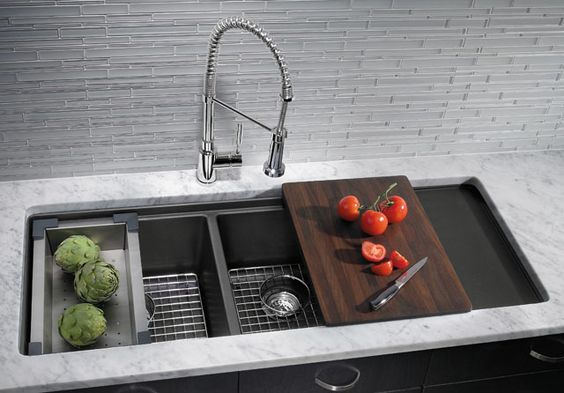 kitchen sinks with sides