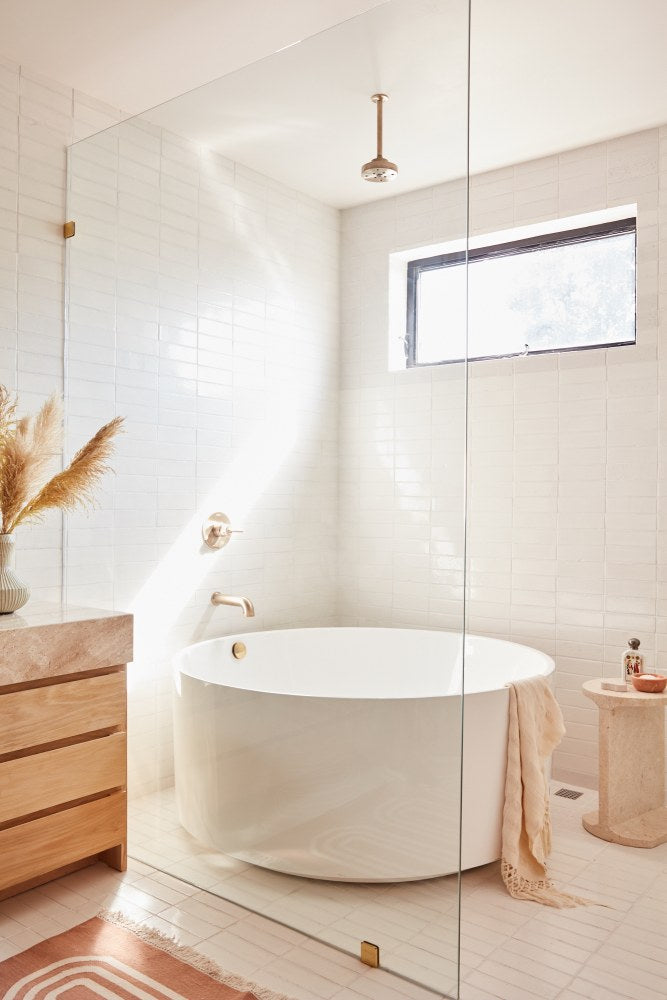 Small Round Bathtub