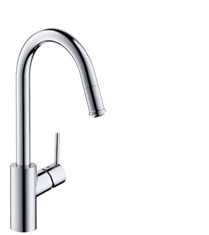 Talis M52 Single Lever Kitchen Mixer 260, Pull Out Spout, 1 Jet SGP