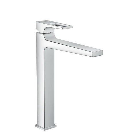 Metropol Single Lever Basin Mixer 260 with Loop Handle for Washbowls with Push-Open Waste Set SGP