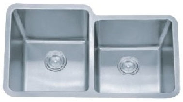 SUS304 Double Bowl Sink