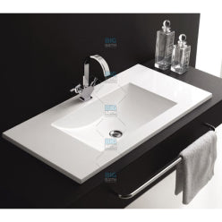 Counter Top Wash Basin - White