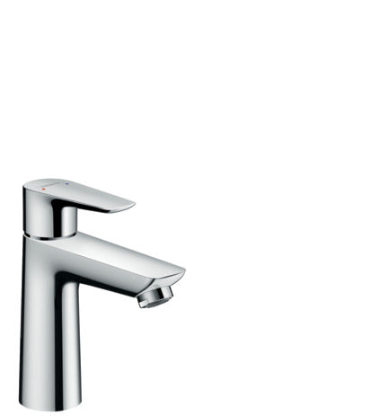 Talis E Single Lever Basin Mixer 110 with Pop-Up Waste Set 1 Tick SGP