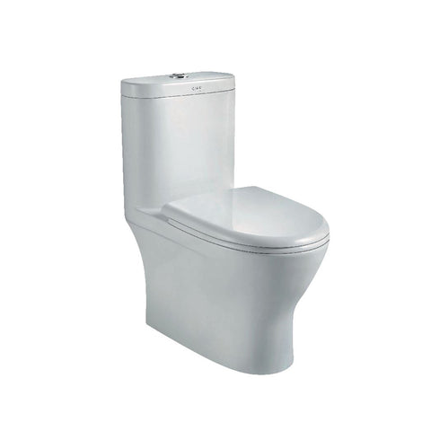 PAROS WC Complete Set (S-250mm) - White (4809771155501)
