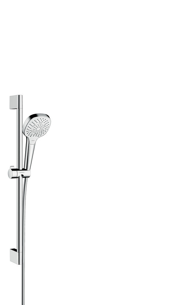 Croma Select E 110 Multi Shower Set, 0.65m, White Chrome (5265650417826)