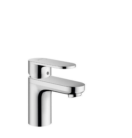 Vernis Blend Basin Mixer 100 with Pop-Up Waste - Zinc
