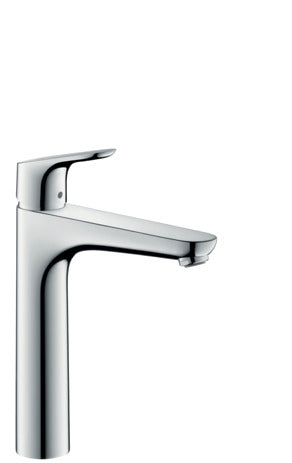 Focus Single Lever Basin Mixer 190 with Pop-Up Waste Set SGP (5265654251682)