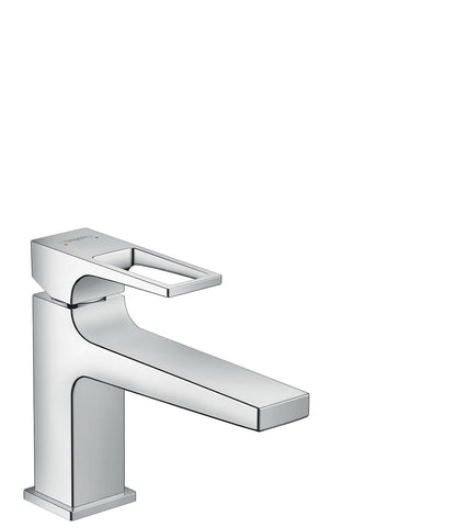 Metropol Single Lever Basin Mixer 100 with Loop Handle and Push-Open Waste Set SGP (5265657069730)