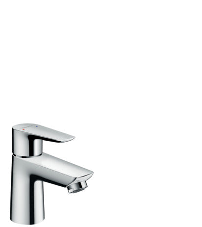 Talis E Single Lever Basin Mixer 80 with Pop-Up Waste Set 1 Tick SGP