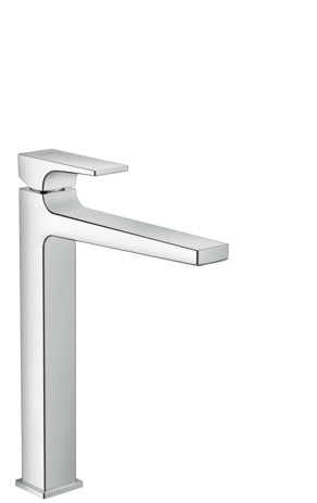 Metropol Single Lever Basin Mixer 260 with Lever Handle for Washbowls with Push-Open Waste Set