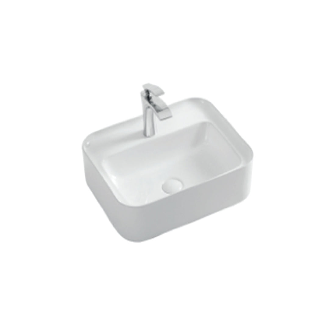 Above Counter Wash Basin without Overflow - White (5003578212397)