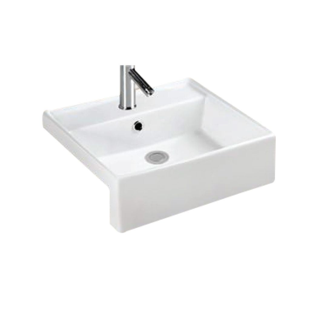 Semi-Recessed Wash Basin (4857108463661)