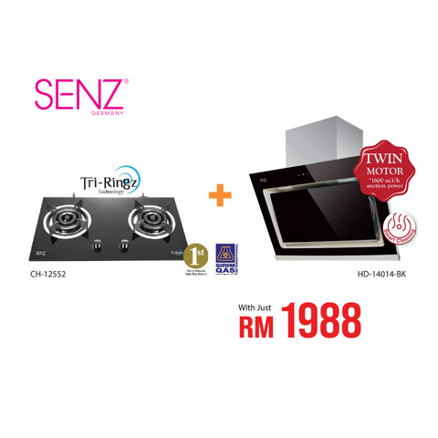 Special Promotion - Senz Hood and Hob Set
