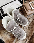 'Alma' Leather Winter Booties