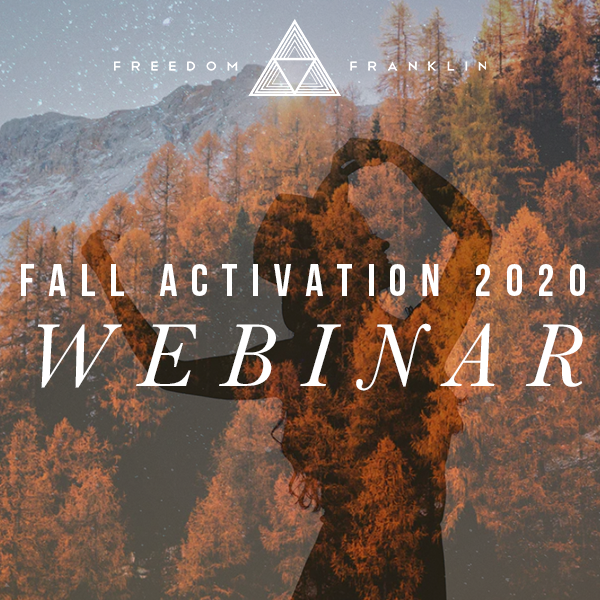 Fall Activation Webinar 2020