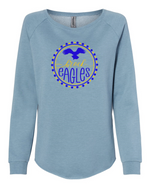 Load image into Gallery viewer, Women's Brock Eagles Dots Sweatshirt