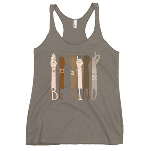 Be Kind - Women's Racerback Tank