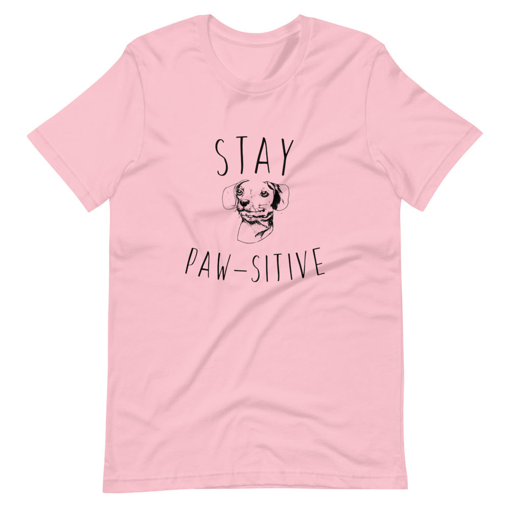 Stay Paw-sitive - Boyfriend Shirt