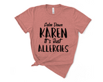 Load image into Gallery viewer, Calm Down Karen Boyfriend Shirt