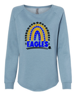 Load image into Gallery viewer, Women's Rainbow Eagles Sweatshirt
