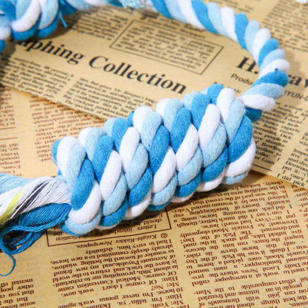Pet cotton rope toy bite-resistant toy