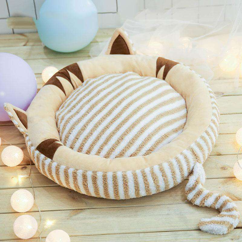 Non-removable small dog mats cat dog bed pet supplies