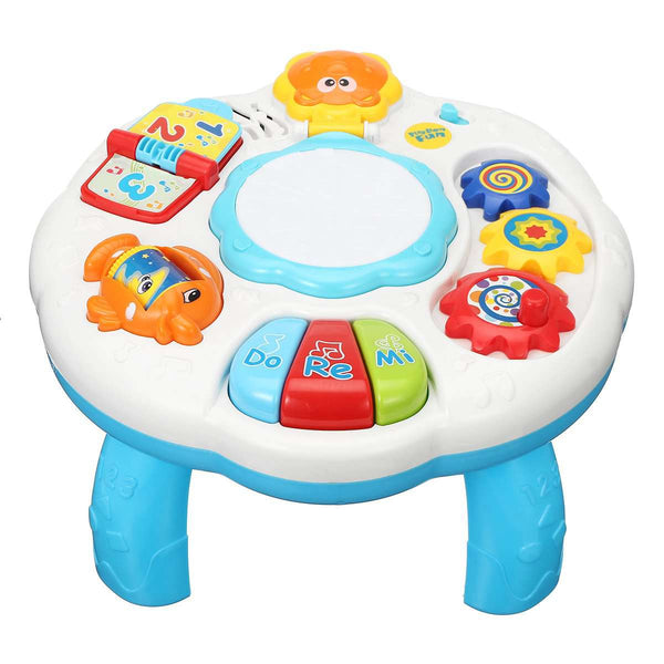 Educational Piano Pat Drum Musical Baby Table Game
