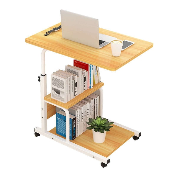 Laptop Desk Household Movable Bed Table Simple Notebook Table Bedside Table for Student Dormitory