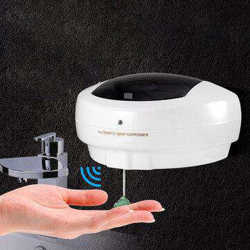 Infrared Sensitive Automatic Wall-mounted Hand Washing Soap Dispenser Household
